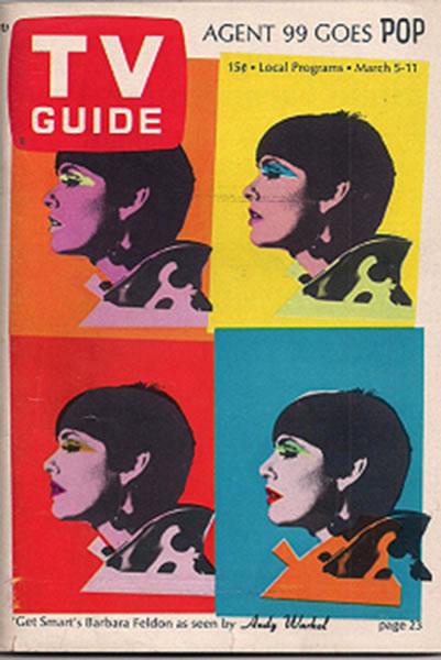 1966年安迪·沃霍尔为杂志《电视指南》(TV Guide)设计的封面