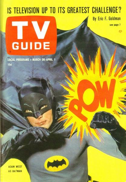 1966年罗伊·利希滕斯坦(Roy Lichtenstein)为《电视指南》(TV Guide)设计的封面