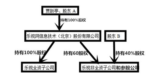乐视集团组织结构图