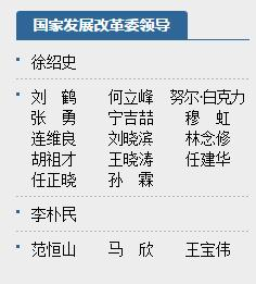 任建华接替刘晓滨任发改委纪检组长
