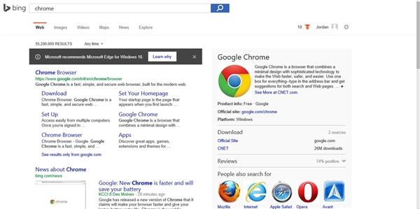 在Win10中搜索Chrome/火狐的神奇一幕