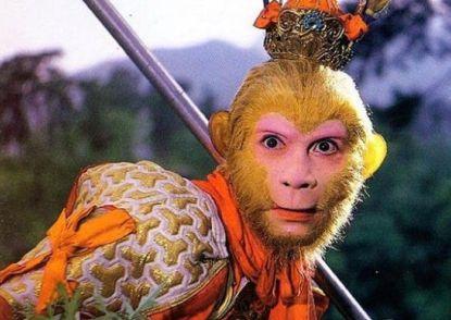 """六小龄童在1986版《西游记》中扮演的""""史上最经典猴王形象"""""""