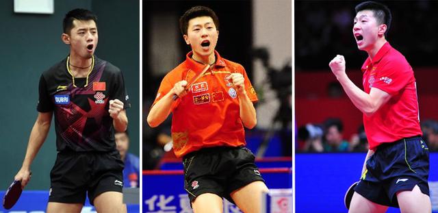 国乒男队三巨头表现惊艳张继科带伤强势回归