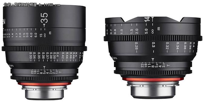 1和35mm t/1.5镜头