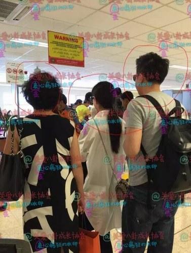[明星爆料]赵丽颖疑似男友曝光 两人赴马尔代夫共度春节(图)