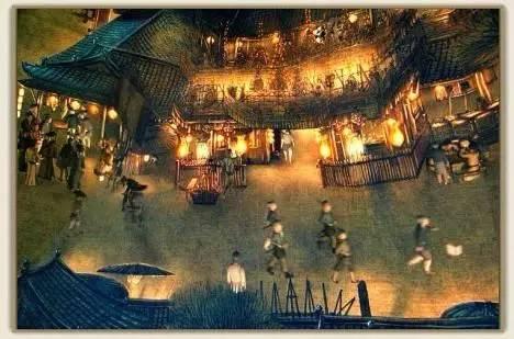 古代社火都玩儿些什么 令市民对宵禁怨声载道