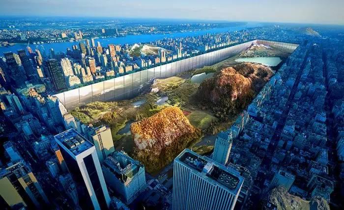 这个要把纽约中央公园挖个遍的脑洞