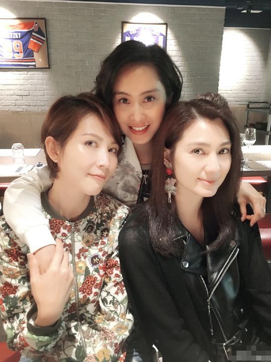[明星爆料]蔡少芬朱茵洪欣聚会晒照 你看得出他们几岁吗?