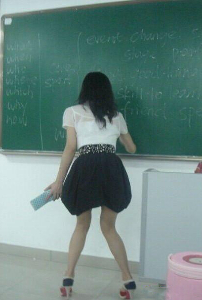 世界上让男生最抓狂的美女老师 凤凰网
