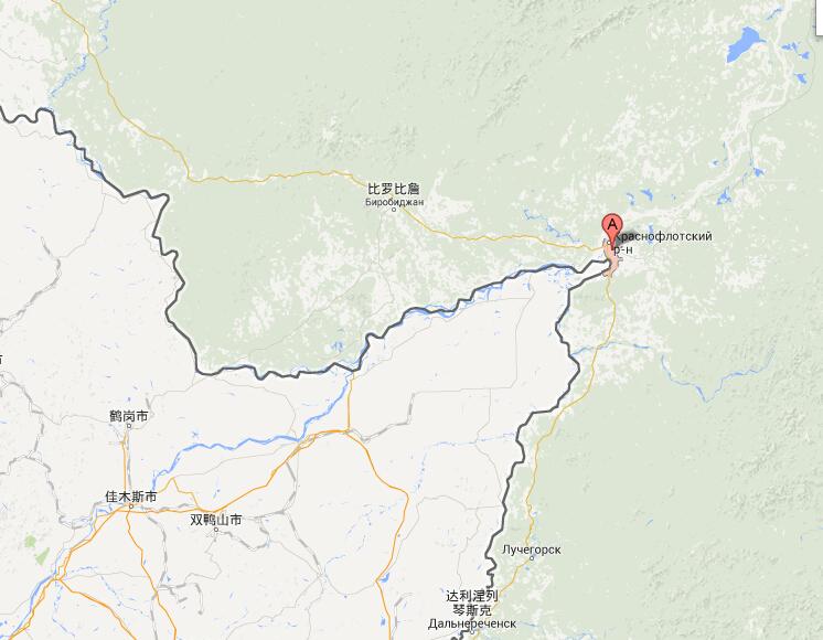 伯力(图片来源:谷歌地图)