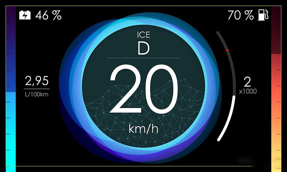 雷诺eolab概念车 百公里油耗仅1升