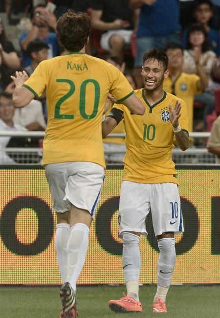 巴西国家队/卡卡在巴西国家队