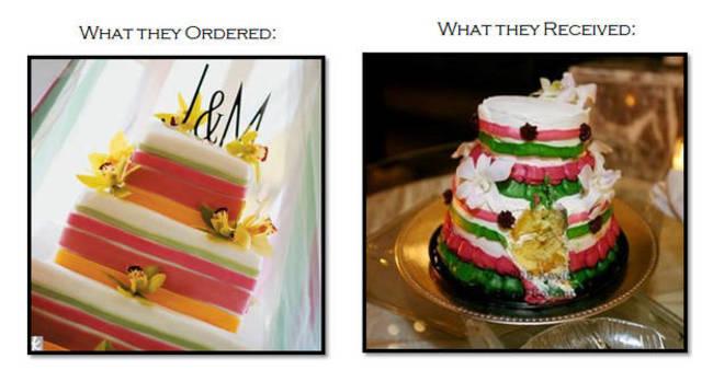 爆笑150317:看过这些婚礼蛋糕 我决定还是不结婚了