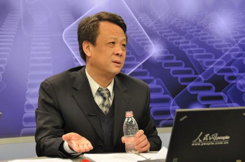 图:国家科学技术奖励工作办公室副主任陈志敏做客人民