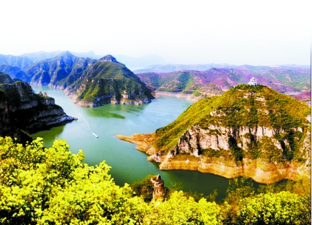 踏青探春就来黄河三峡济源台儿庄旅游攻略自助游图片