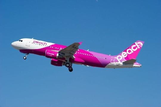 图:日本桃子航空接收其首架空中客车a320飞机