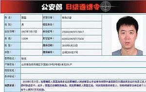 2000年6月23日,通缉聂磊的B级通缉令。资料图