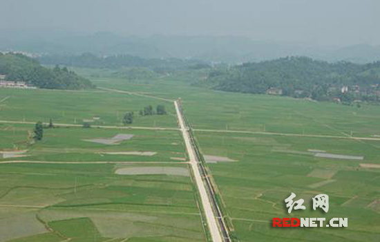 镇农业综合开发土地治理项目区)-湖南实施农业开发 工程质量年 建