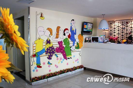 幼儿园走廊墙壁装修