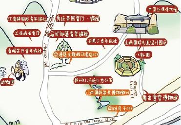 创意生活手绘地图 一图在手玩转创意杭州