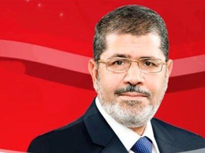 埃及新任总统穆尔西(资料图)