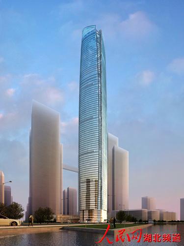 武汉中心大厦钢结构工程全面展开