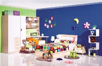 可获得15平方米以下儿童房免费装修泉佳美硅藻泥和美恩生态辅材的机会