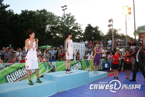 西安工大女篮获世界大学生篮球锦标赛亚军季军图片