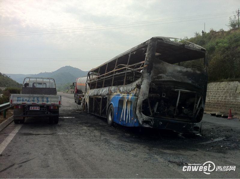 延安发生特大交通事故 已造成36人亡【高清组图】