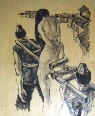 古代日本是惩罚女犯人的?宜兴惩罚酒店的哪些有情趣日本女犯图片