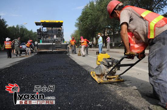 """新疆乌鲁木齐市多条受""""煤改气""""施工影响路段已回填"""