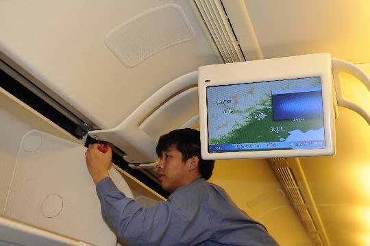 ameco完成国航首架波音777飞机客舱升级改造