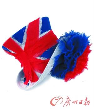 """这顶英国国旗图案的帽子直接以""""anna p""""命名,出自斯黛芬·琼斯之手."""