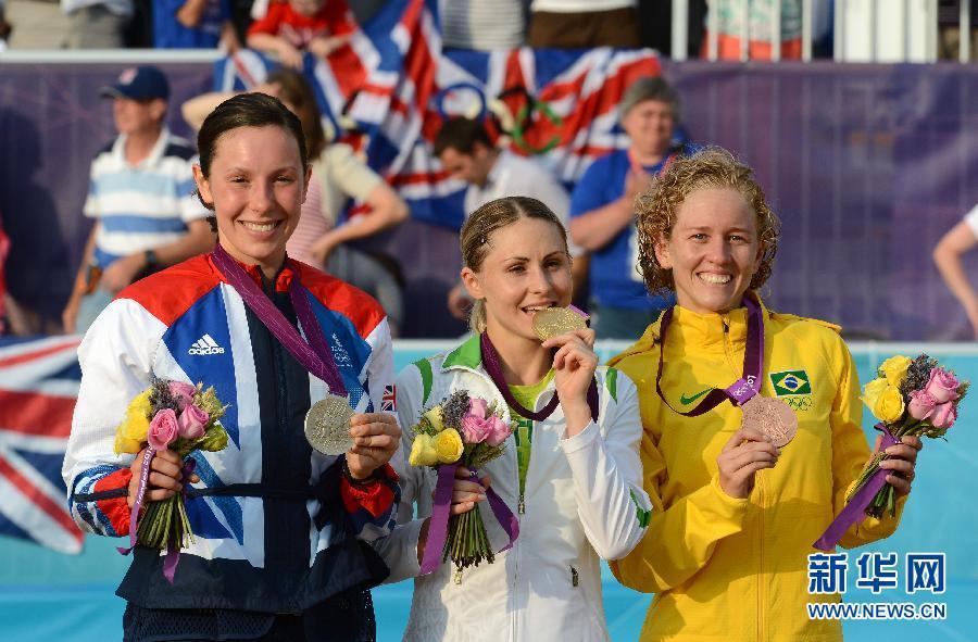 ...现代五项团队可谓收获大——实现了奥运奖牌的历史性突破.