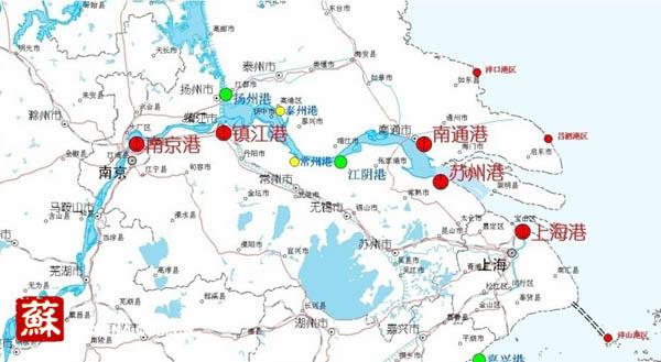 太仓至南京地理位置图 利国利民经济社会效益将显著提升 长江南京以下12.5米深水航道指挥部指挥长肖大远告诉记者,建成后,可直接拉动区域经济增长。以江苏省统计局的投入产出数据为基础,据测算,平均每年可递增沿江港口吞吐量约1.3亿吨,可直接拉动沿江地区国民生产总值GDP约238亿元,直接增加沿江地区经济111亿元,新增就业岗位约16.