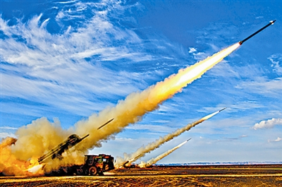 远程火箭炮图片_图文中国WS2远程火箭炮