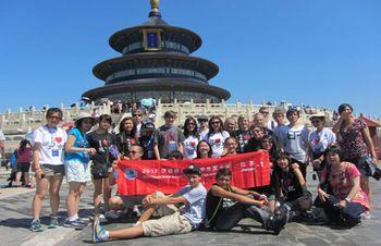 华盛顿州孔子学院举行汉语桥高中生夏令营毕业总结边伯贤高中图片