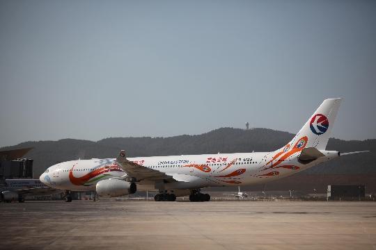 目前,东航云南公司的空中客车a330飞机主要运营昆明—北京,昆明—上海