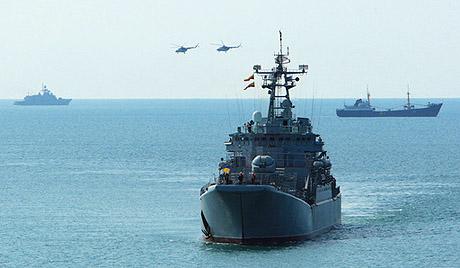 黑海舰队(资料图)
