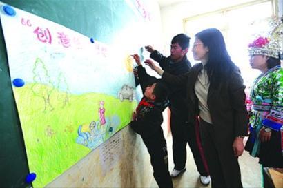 乡归述村儿童的教育状况