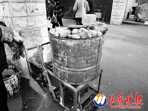 多是用化工油桶改装的