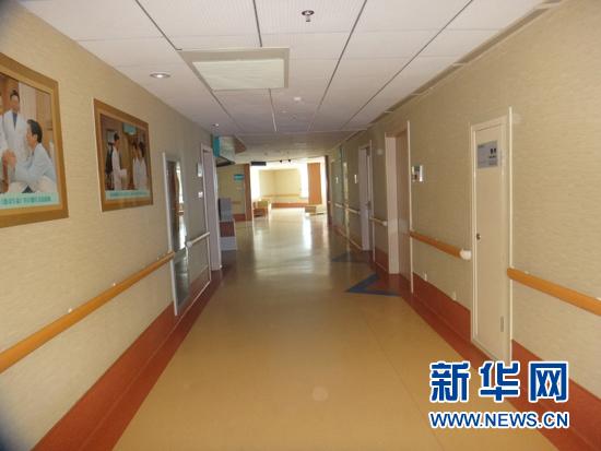 燕达医院住院部平面图
