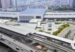 深圳东站整体俯视图.(资料图片)-深圳东站长途车票今起可预订