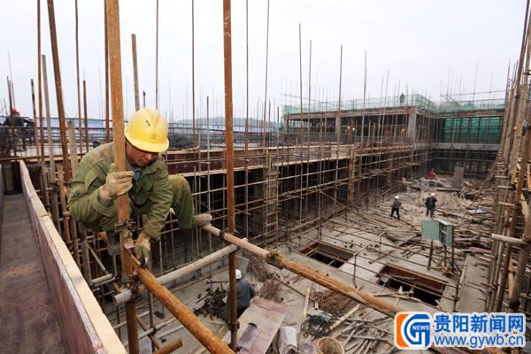 贵阳客运东站前广场桩基础工作已完成一半以上(图)
