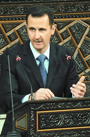 叙利亚成为 人间地狱 总统巴沙尔内外交困