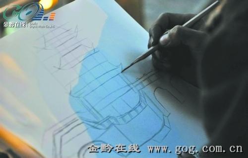 寻那个会画画的背篼 一文化公司愿帮他实现绘画梦想