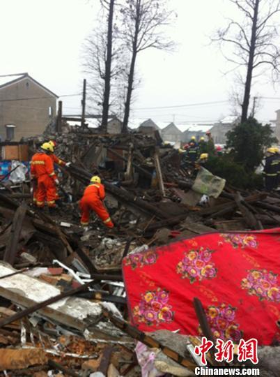 浙江鄞州官员称拆迁单位误拆未签约民宅(图)