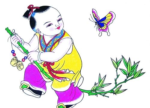 汉代古装美女 卡通