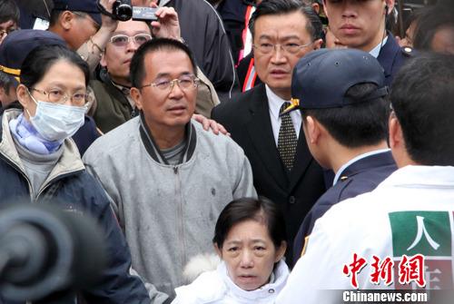 资料图:陈水扁   中新社记者 董会峰 摄
