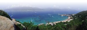 分界洲岛旅游区海滨一角